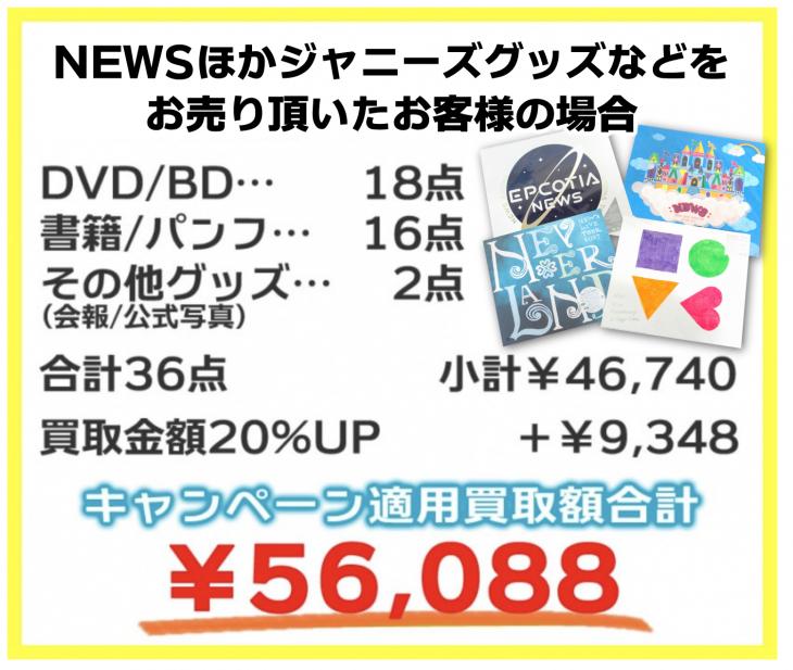 newsほか20%キャンペーン