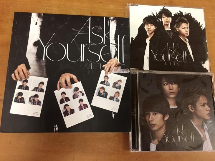 KAT-TUN Ask Yourself 通常 初回 通常初回プレス 盤 9