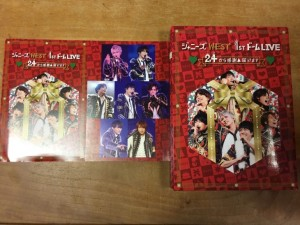 ジャニーズWEST 1stドーム LIVE 24(ニシ)から感謝 届けます DVD 3