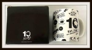 KAT-TUN LIVE TOUR 2016 10Ks! グッズ マグカップ 2