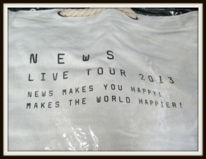 NEWS LIVE TOUR 2013 MAKES YOU HAPPY! MAKES THE WORLD HAPPIER! バッグ 3