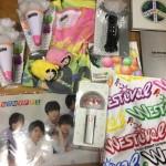 Kis-My-Ft2、ジャニーズWESTのタオル、キスマイベア、Tシャツ、DVD等のグッズ