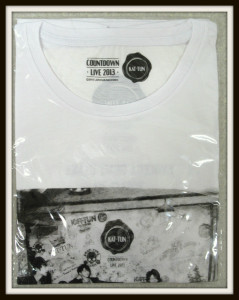 KAT-TUN Tシャツ COUNTDOWN 2013-2014