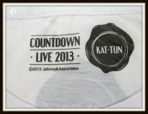 KAT-TUN Tシャツ COUNTDOWN 2013-2014 3