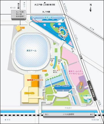 東京 地図 嵐 20周年 コンサート
