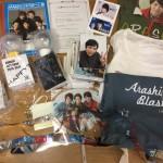 嵐の櫻井翔 君の当選品 QUOカード、公式写真大量、Tシャツ、銀テープ、ペンライト等のグッズ