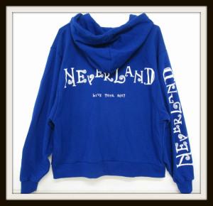 NEWS パーカー LIVE TOUR 2017 NEVERLAND