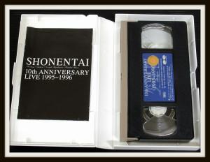 少年隊 VHS 10th ANNIVERSARY LIVE 1995~1996 3