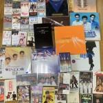少年隊のVHS、レーザーディスク、レコード、テレホンカード、CD、8cmCD