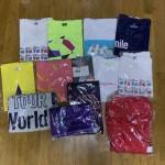 嵐のAROUND ASIA DVD 初回盤、5×10、アユハピ等のTシャツ、タオル