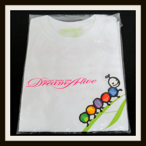 嵐 ARASHI Marks 2008 Dream A live Tシャツ