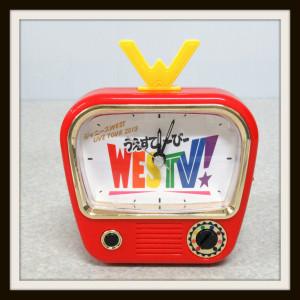 ジャニーズWEST LIVE TOUR 2019 WESTV! おれらの声で起き時計