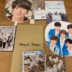 King&Princeの1stアルバム「King&Prince」、パンフレット、ペンライト、平野紫耀君うちわ、CD等