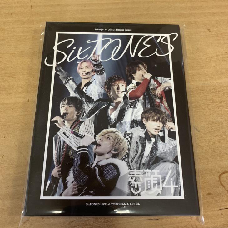 素顔4. SixTONES盤 DVD