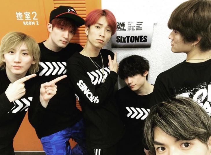 SixTONES TOUR 2020 TrackONE IMPACT グッズ着用