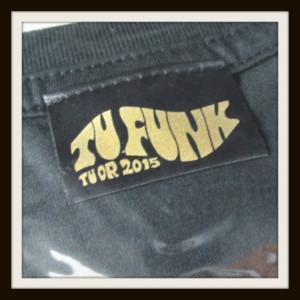 堂本剛 Tシャツ TU FUNK LIVE TUOR 2015 TUシャツ