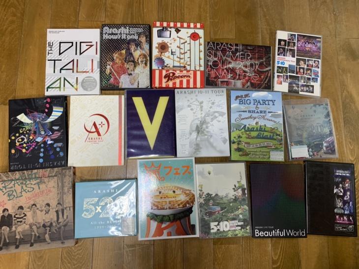 嵐の5×20、THE DIGITALIAN等のCD、DVD、Blu-ray