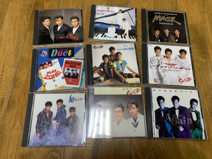 少年隊 CD