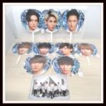 Snow Man ASIA TOUR 2D.2D. のジャンボうちわとクリアファイル