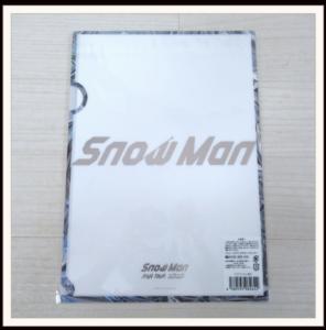 Snow Man クリアファイル